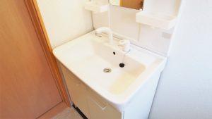 洗面所の水漏れ